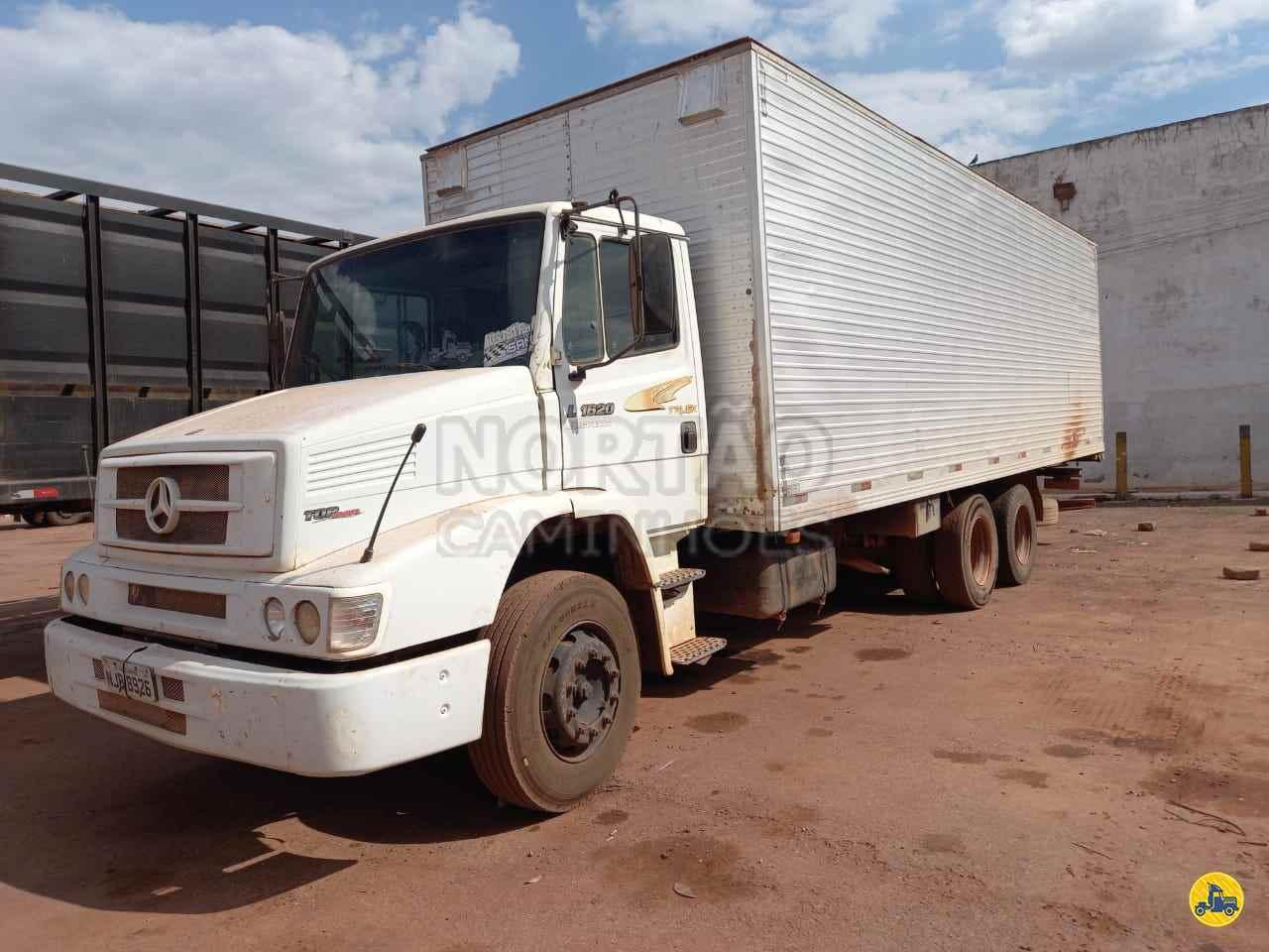 CAMINHAO MERCEDES-BENZ MB 1620 Baú Furgão Truck 6x2 Nortão Caminhões VARZEA GRANDE MATO GROSSO MT