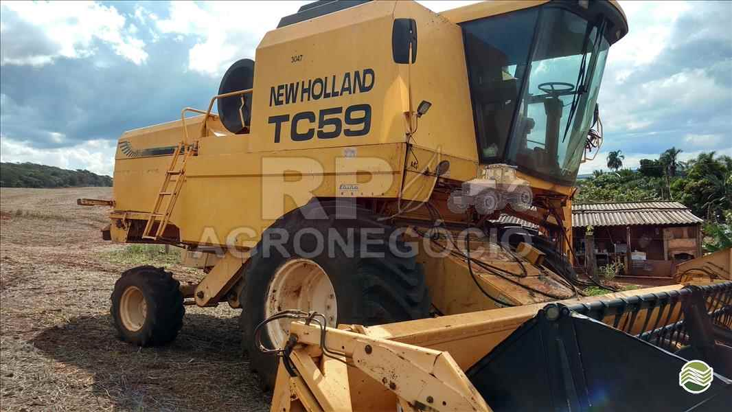 NEW HOLLAND TC 59  2002/2002 RP Agronegócio