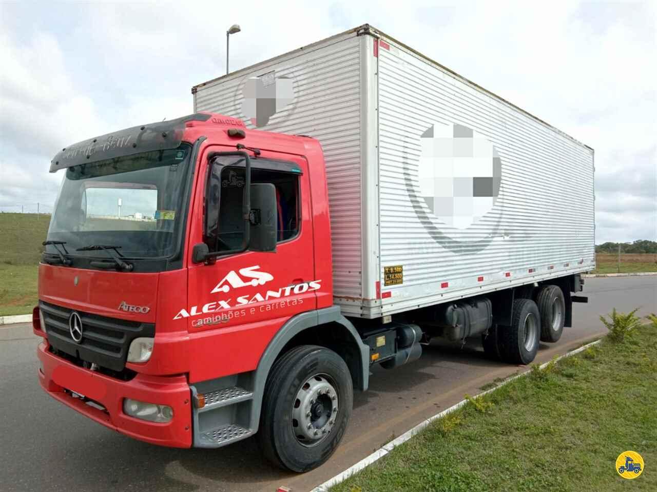 CAMINHAO MERCEDES-BENZ MB 2425 Baú Furgão Truck 6x2 Alex Santos Caminhões - Pouso Alegre POUSO ALEGRE MINAS GERAIS MG