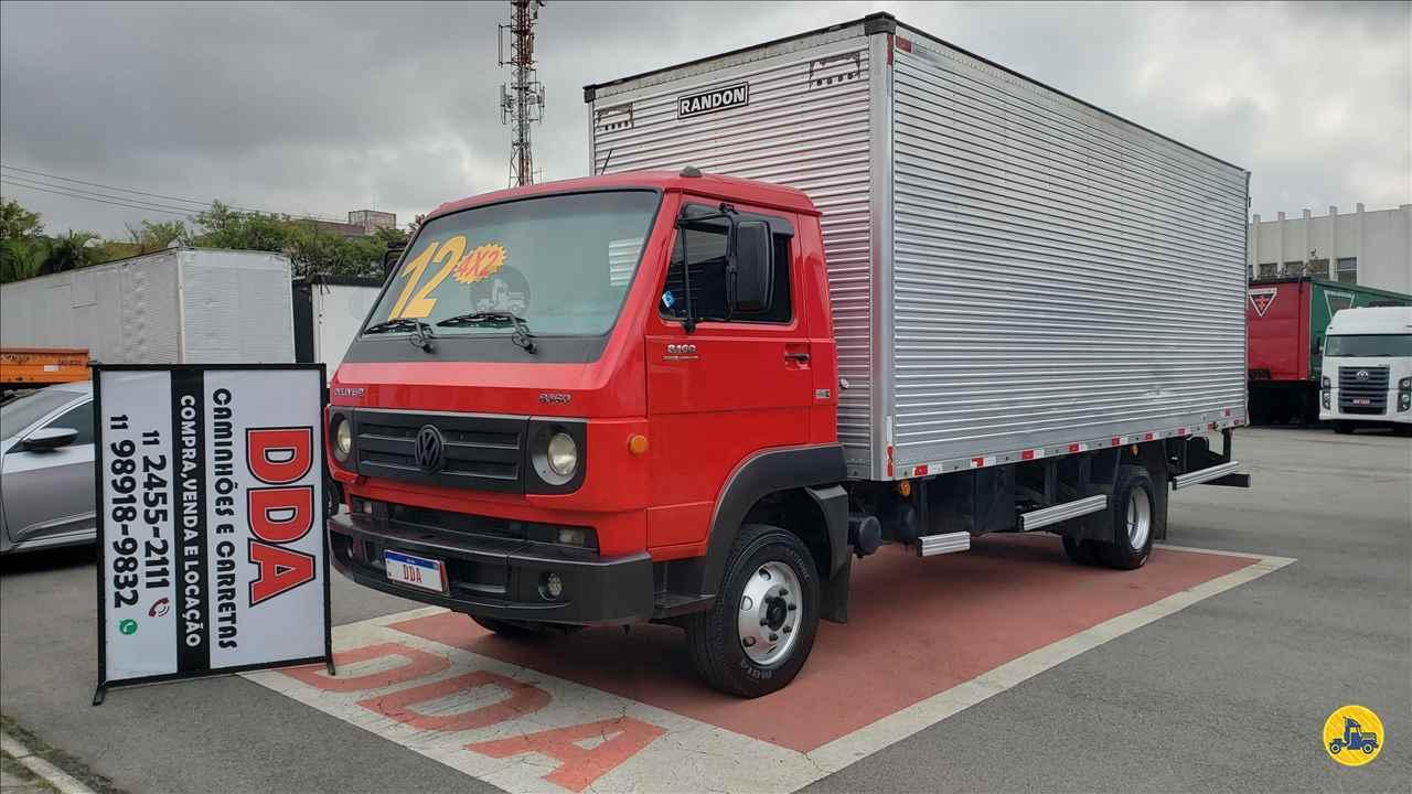 CAMINHAO VOLKSWAGEN VW 8160 Baú Furgão Toco 4x2 DDA Caminhões e Carretas GUARULHOS SÃO PAULO SP