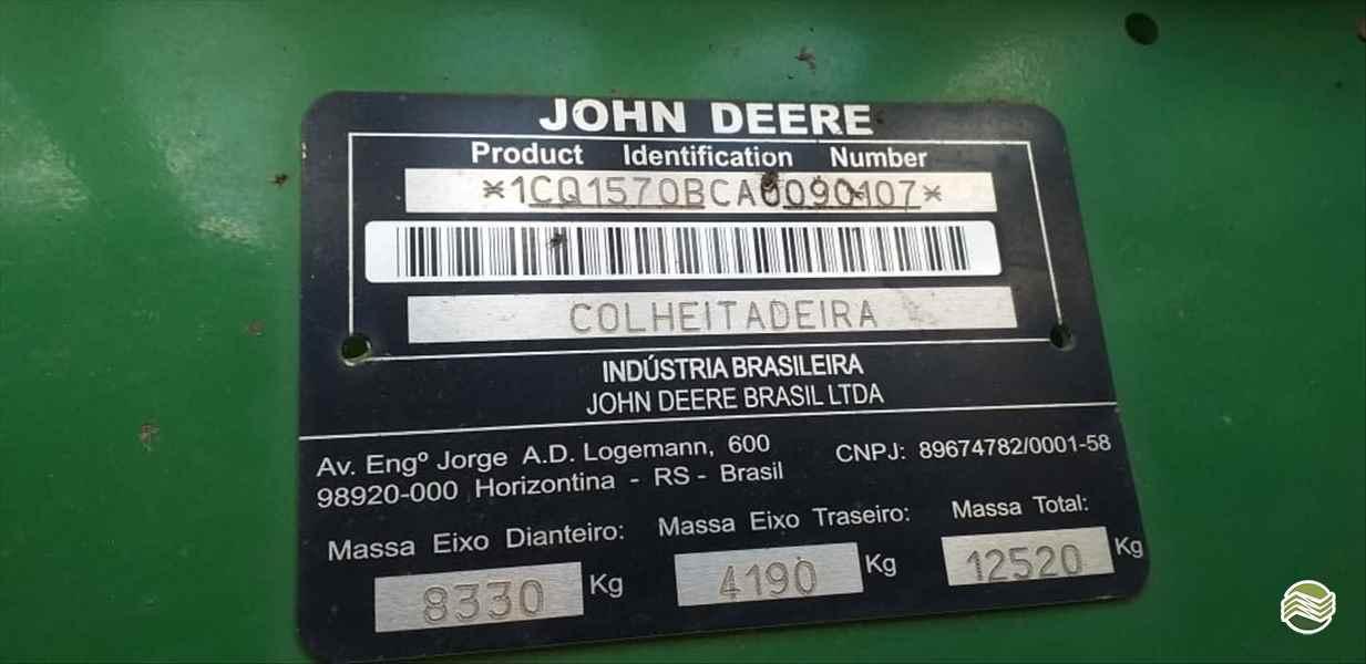 JOHN DEERE JOHN DEERE 1570  2010/2010 Claudio Máquinas Agrícolas