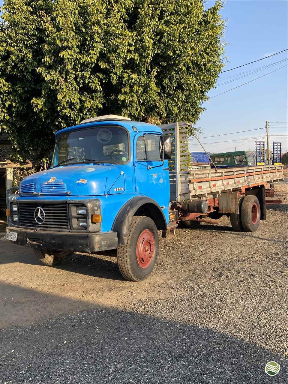 CAMINHAO MERCEDES-BENZ MB 1113 Carga Seca Toco 4x2 RT Máquinas e Peças Agrícolas LEME SÃO PAULO SP