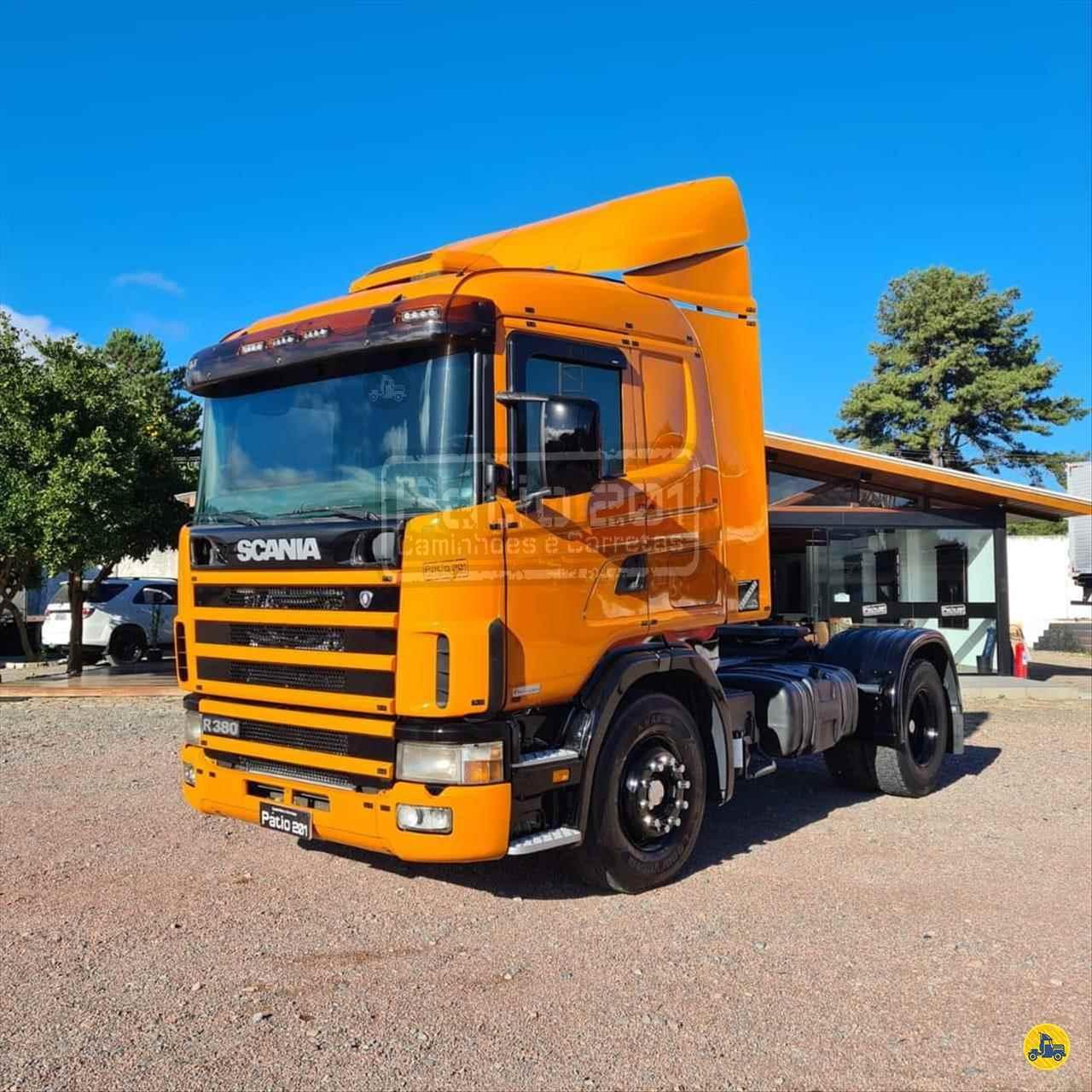 CAMINHAO SCANIA SCANIA 114 380 Cavalo Mecânico Toco 4x2 Pátio 201 Caminhões e Carretas CURITIBA PARANÁ PR