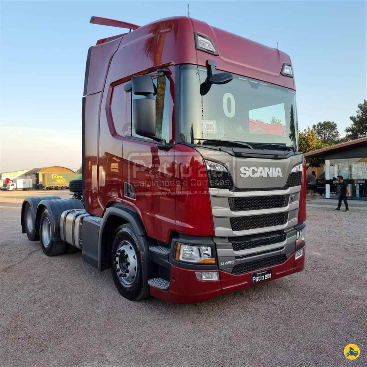 CAMINHAO SCANIA SCANIA 450 Cavalo Mecânico Truck 6x2 Pátio 201 Caminhões e Carretas CURITIBA PARANÁ PR