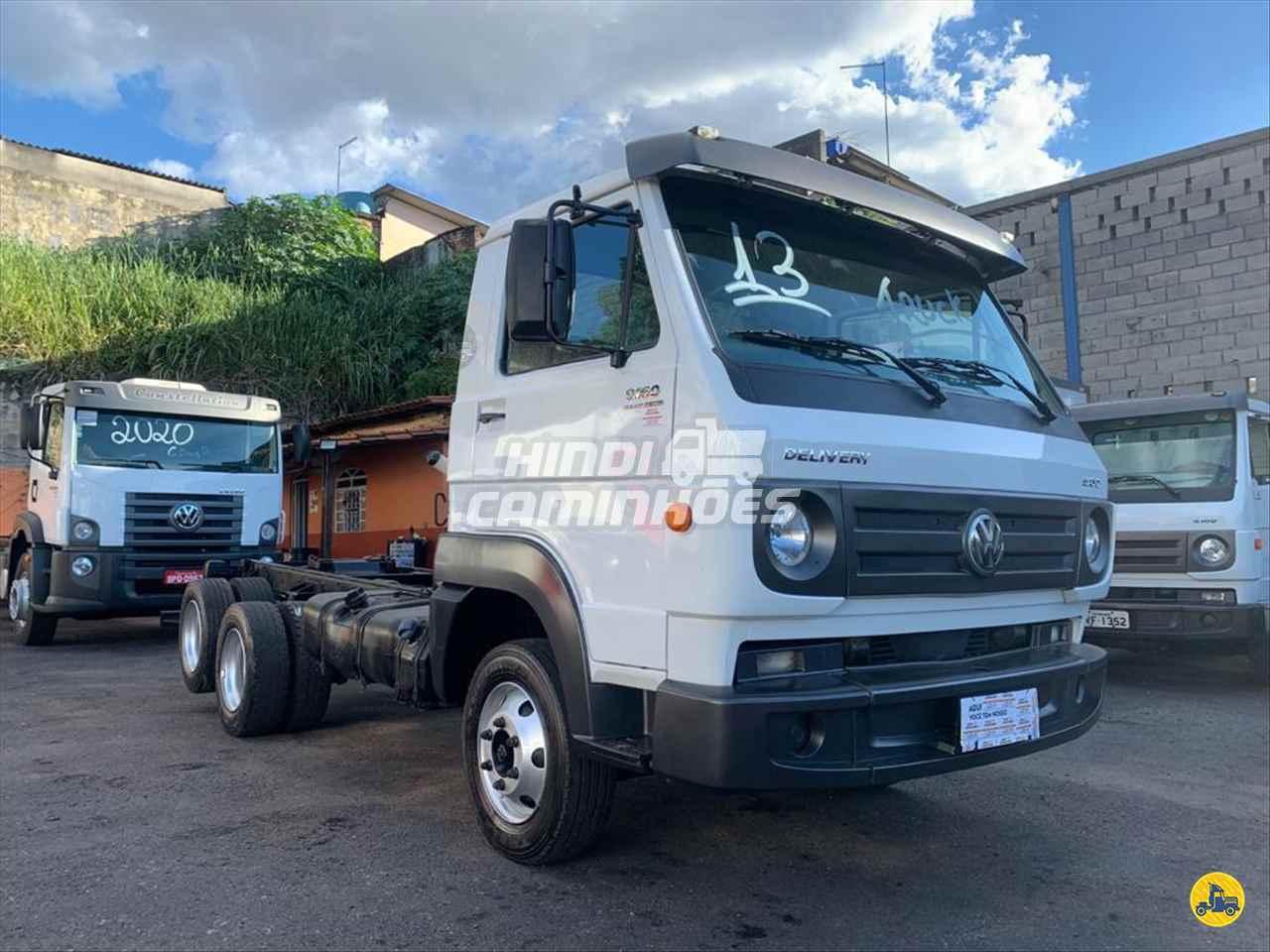 CAMINHAO VOLKSWAGEN VW 9160 Chassis Truck 6x2 Hindi Caminhões CONTAGEM MINAS GERAIS MG