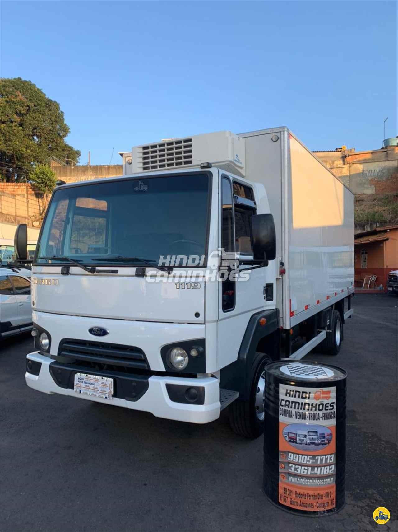 CAMINHAO FORD CARGO 1119 Baú Frigorífico 3/4 4x2 Hindi Caminhões CONTAGEM MINAS GERAIS MG