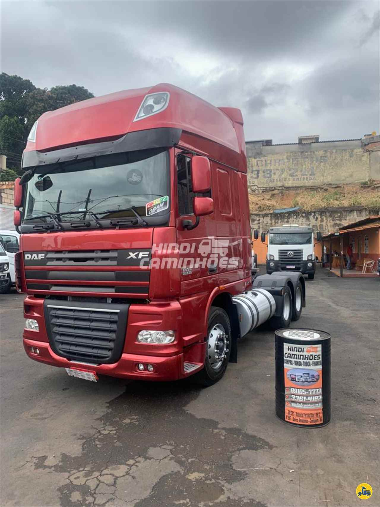 CAMINHAO DAF DAF XF105 510 Chassis Truck 6x2 Hindi Caminhões CONTAGEM MINAS GERAIS MG