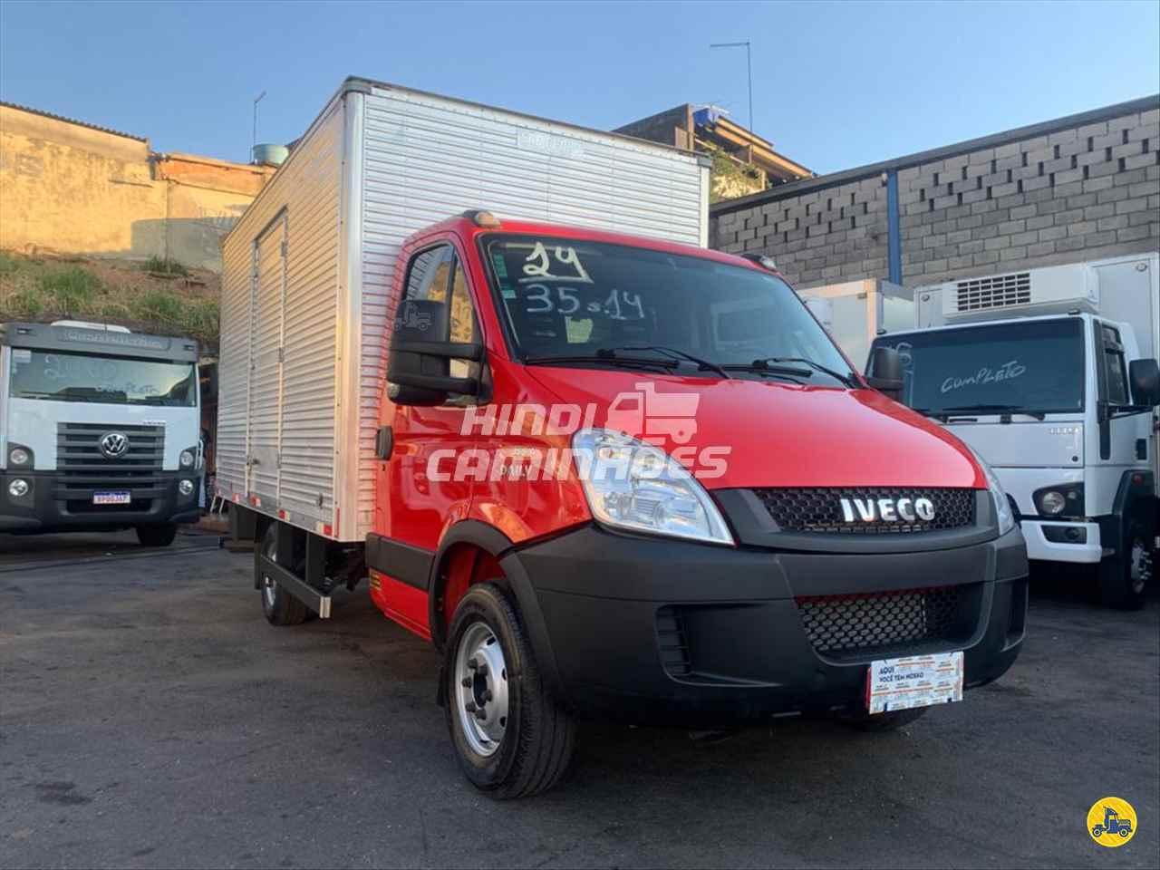 CAMINHAO IVECO DAILY 35s14 Baú Furgão 3/4 4x2 Hindi Caminhões CONTAGEM MINAS GERAIS MG