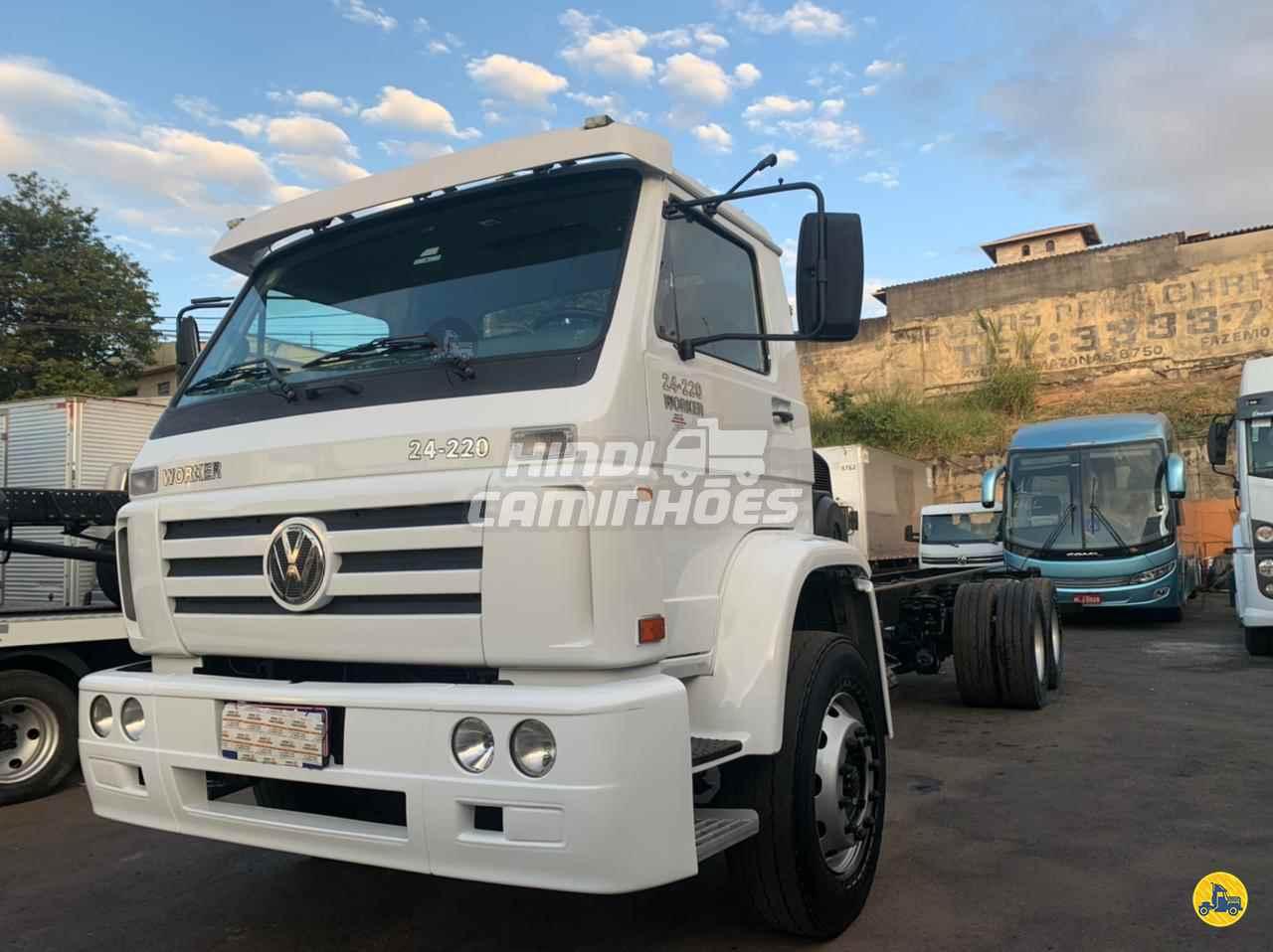CAMINHAO VOLKSWAGEN VW 24220 Chassis Truck 6x2 Hindi Caminhões CONTAGEM MINAS GERAIS MG