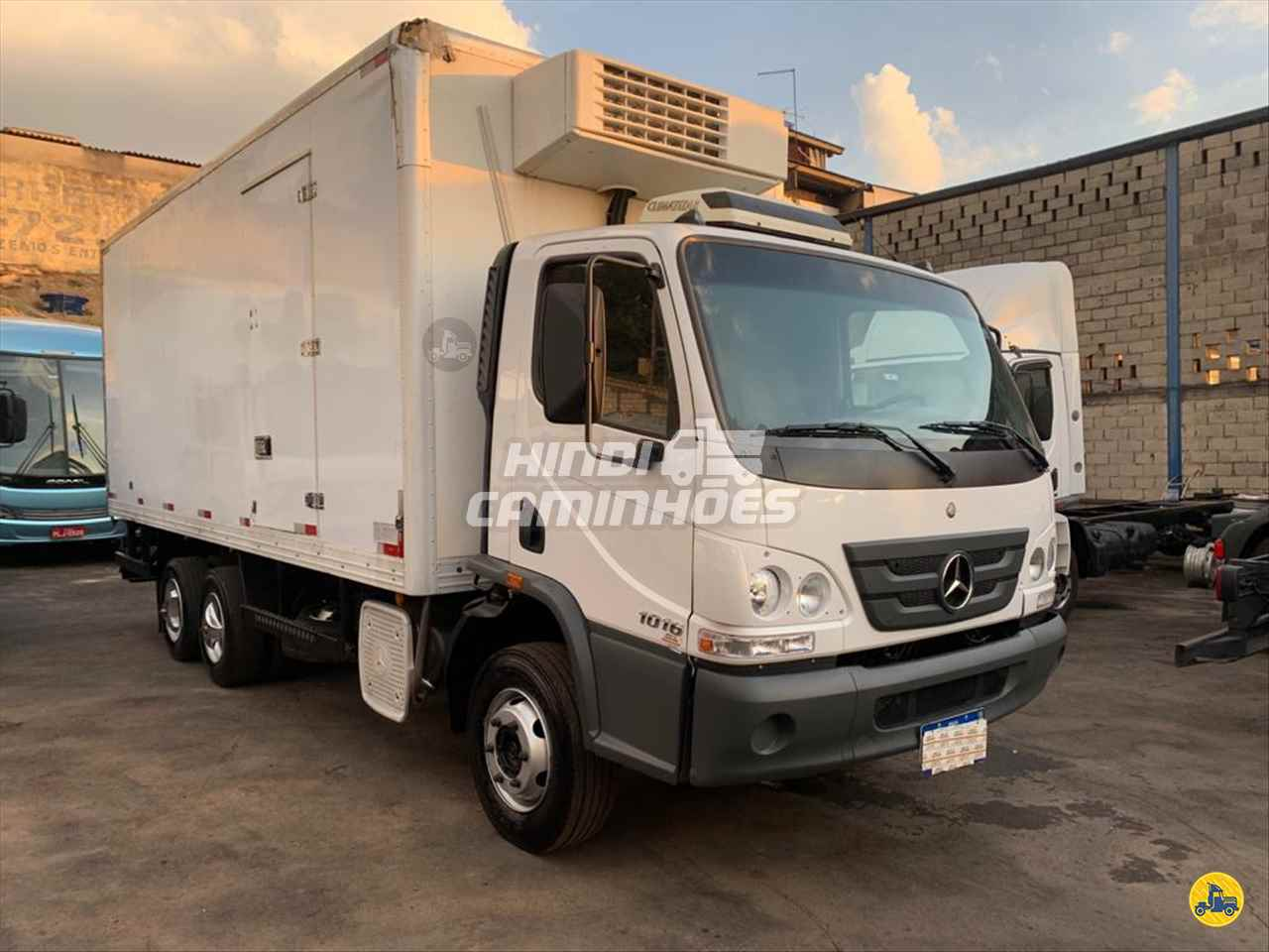 CAMINHAO MERCEDES-BENZ MB 1016 Baú Frigorífico Truck 6x2 Hindi Caminhões CONTAGEM MINAS GERAIS MG