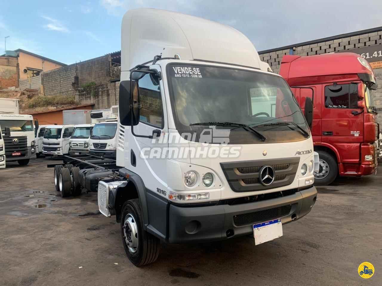 CAMINHAO MERCEDES-BENZ MB 1016 Chassis Truck 6x2 Hindi Caminhões CONTAGEM MINAS GERAIS MG