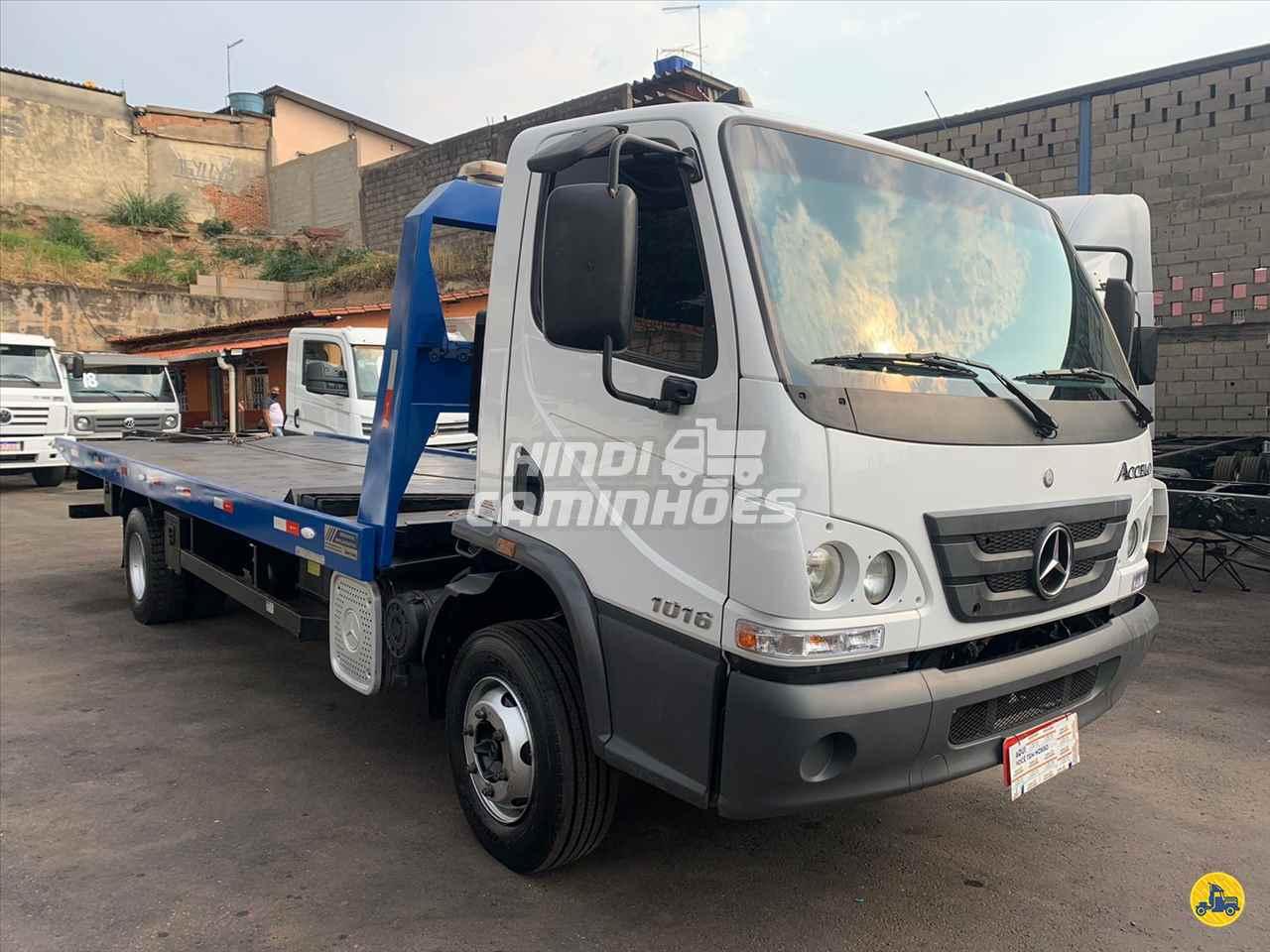 CAMINHAO MERCEDES-BENZ MB 1016 Plataforma Guincho 3/4 4x2 Hindi Caminhões CONTAGEM MINAS GERAIS MG