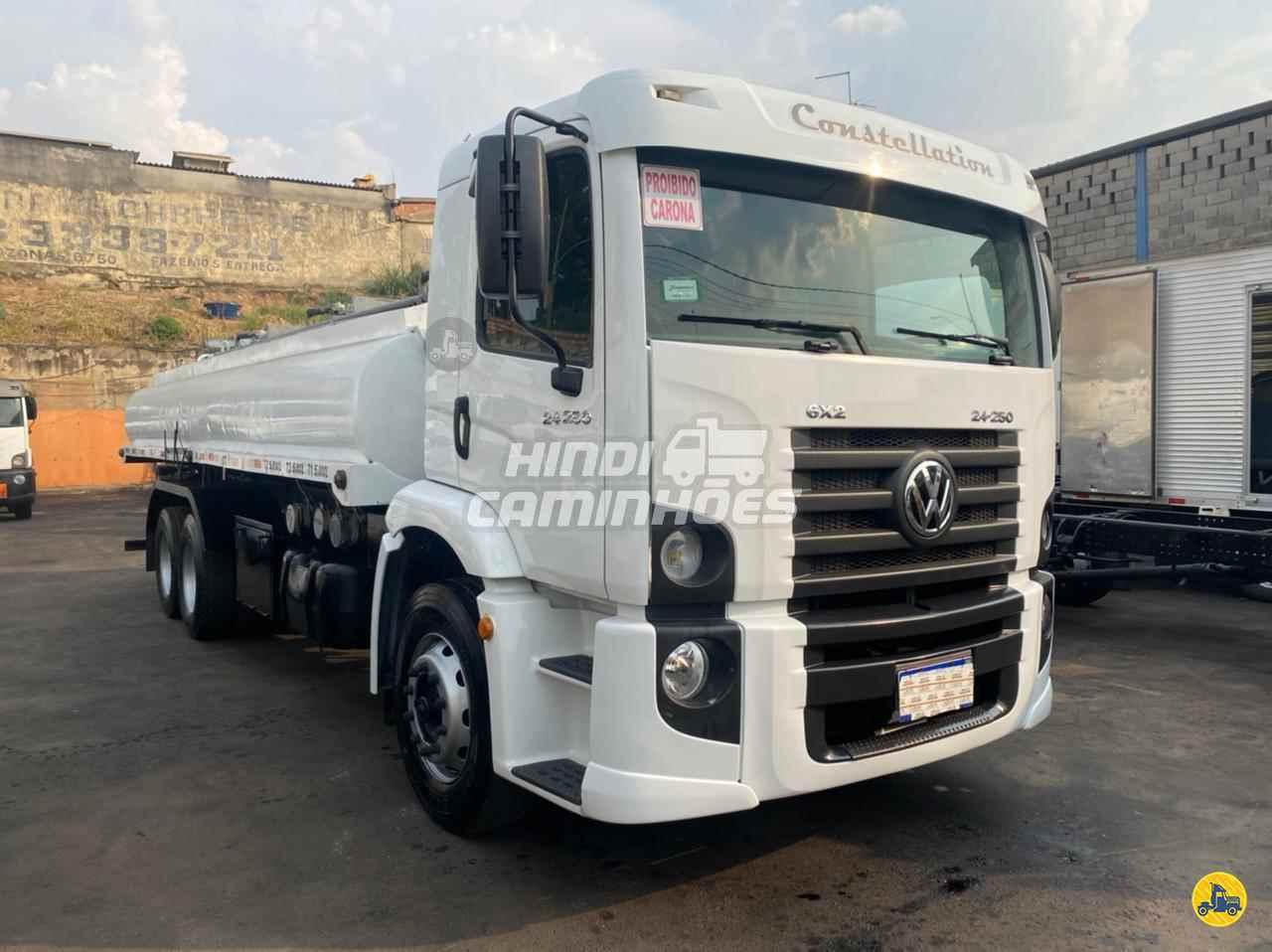 CAMINHAO VOLKSWAGEN VW 24250 Tanque Aço Truck 6x2 Hindi Caminhões CONTAGEM MINAS GERAIS MG