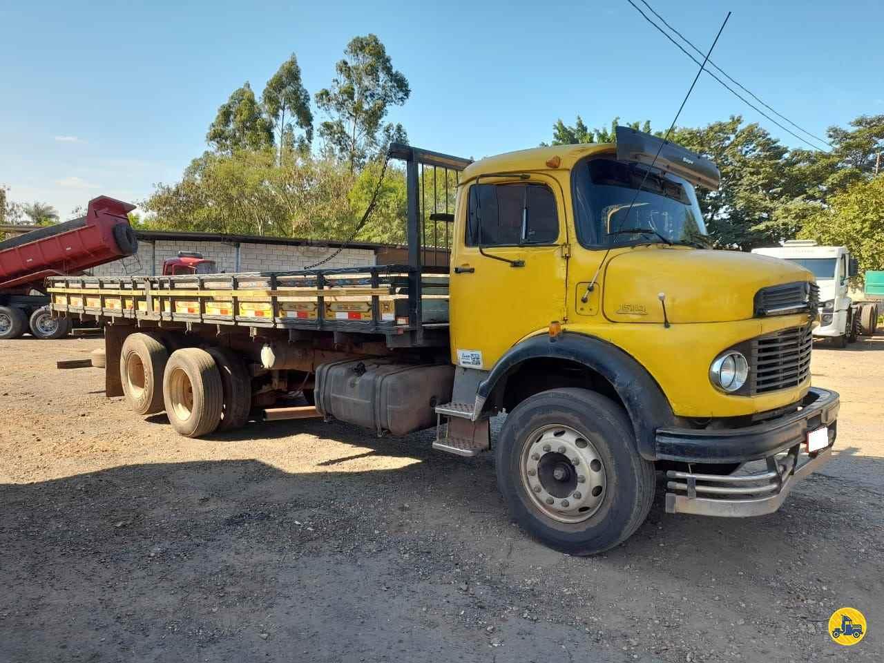 CAMINHAO MERCEDES-BENZ MB 1519 Carga Seca Truck 6x2 Leque Caminhões  PIRACICABA SÃO PAULO SP