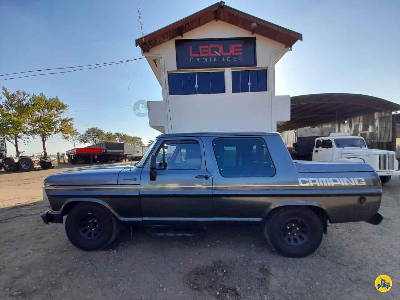CARRO FORD F-1000 CD Leque Caminhões  PIRACICABA SÃO PAULO SP