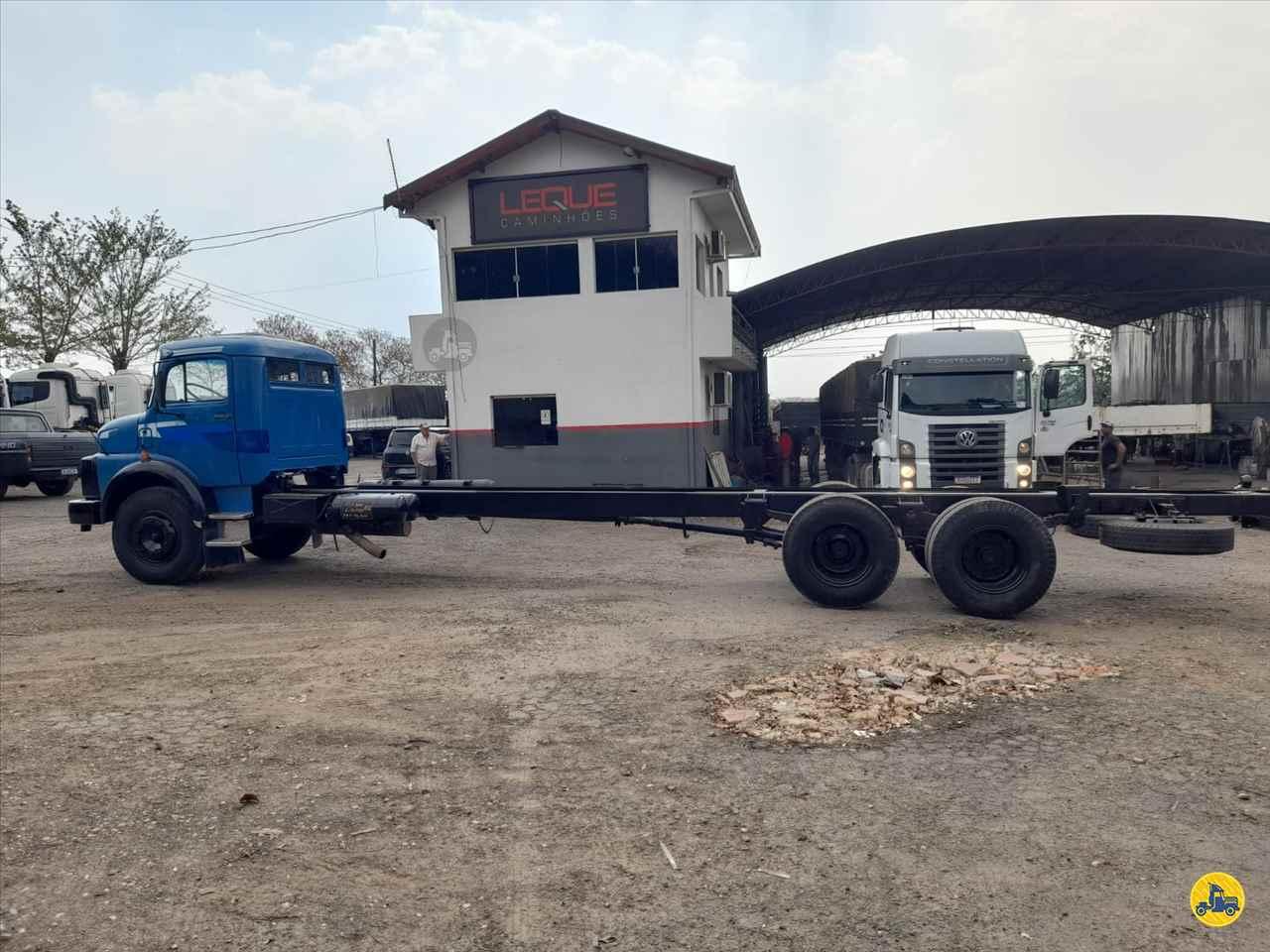 CAMINHAO MERCEDES-BENZ MB 1113 Chassis Truck 6x2 Leque Caminhões  PIRACICABA SÃO PAULO SP
