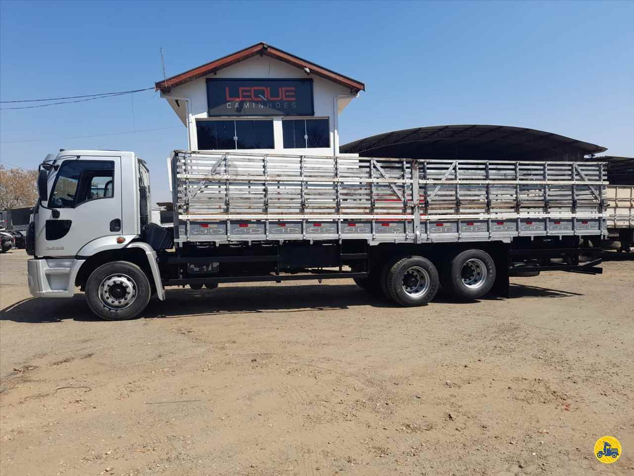 CAMINHAO FORD CARGO 2422 Carga Seca Truck 6x2 Leque Caminhões  PIRACICABA SÃO PAULO SP