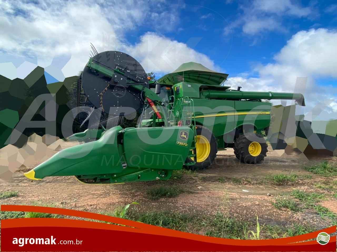 JOHN DEERE JOHN DEERE S770  2020/2020 Agromak Máquinas Agrícolas
