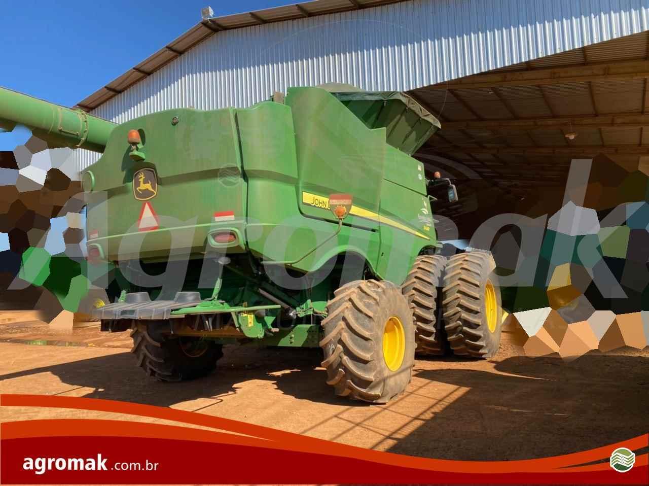 COLHEITADEIRA JOHN DEERE JOHN DEERE S680 Agromak Máquinas Agrícolas CAMPO VERDE MATO GROSSO MT