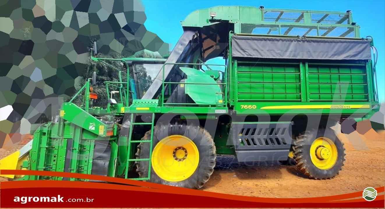 COLHEITADEIRA JOHN DEERE JOHN DEERE ALG. 7660 Agromak Máquinas Agrícolas CAMPO VERDE MATO GROSSO MT