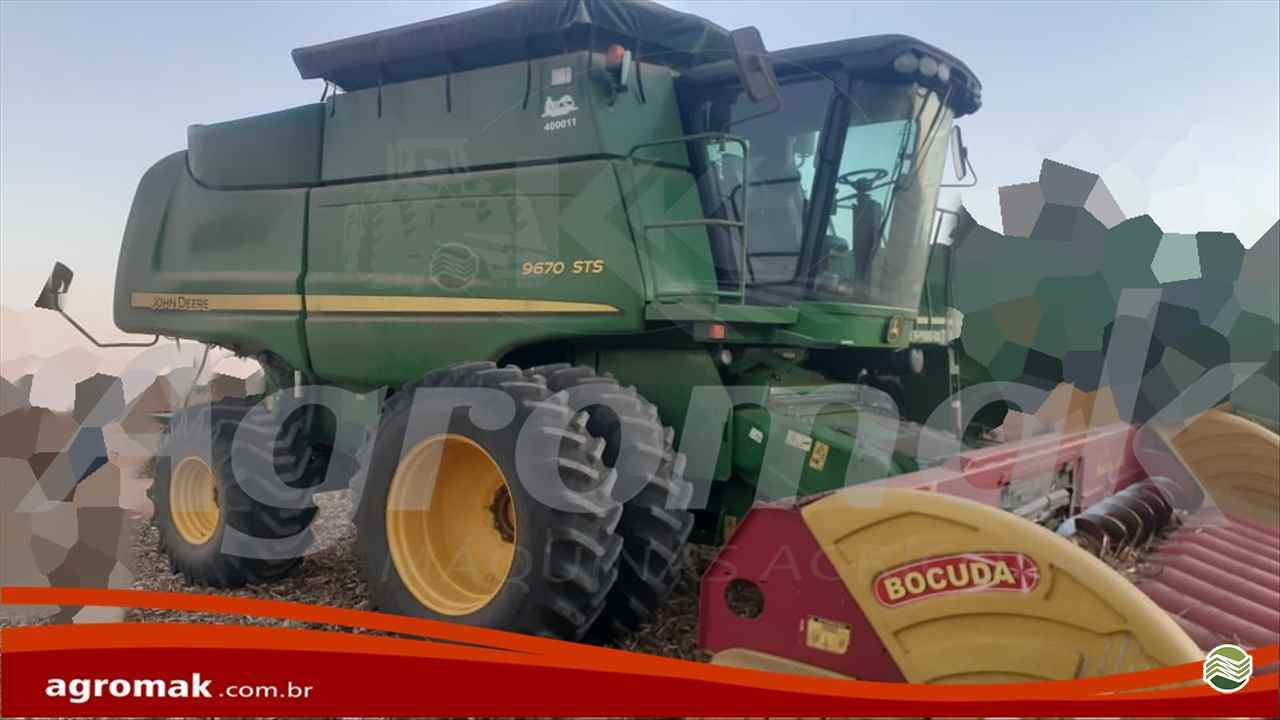COLHEITADEIRA JOHN DEERE JOHN DEERE 9670 STS Agromak Máquinas Agrícolas CAMPO VERDE MATO GROSSO MT
