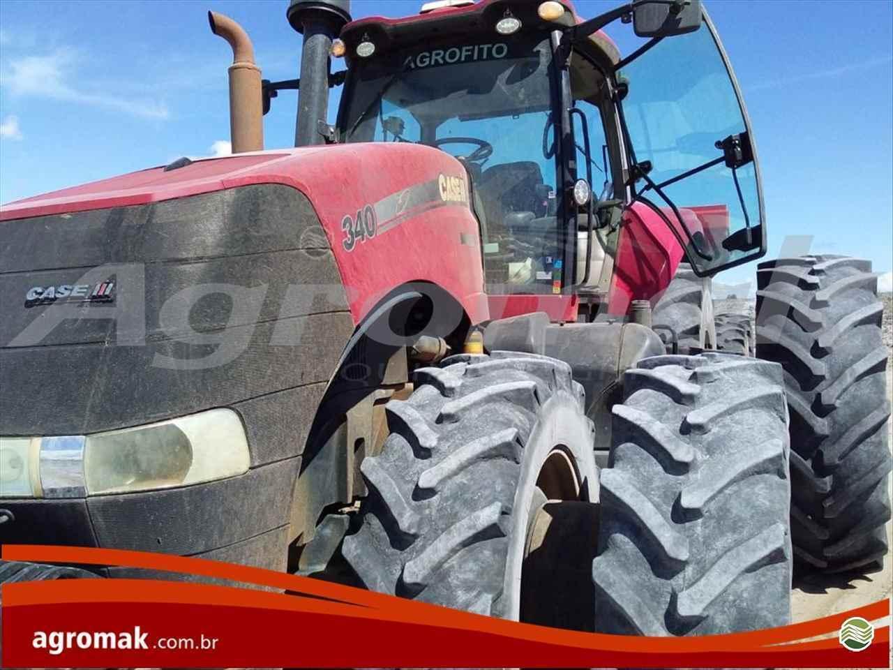 TRATOR CASE MAGNUM 340 Tração 4x4 Agromak Máquinas Agrícolas CAMPO VERDE MATO GROSSO MT