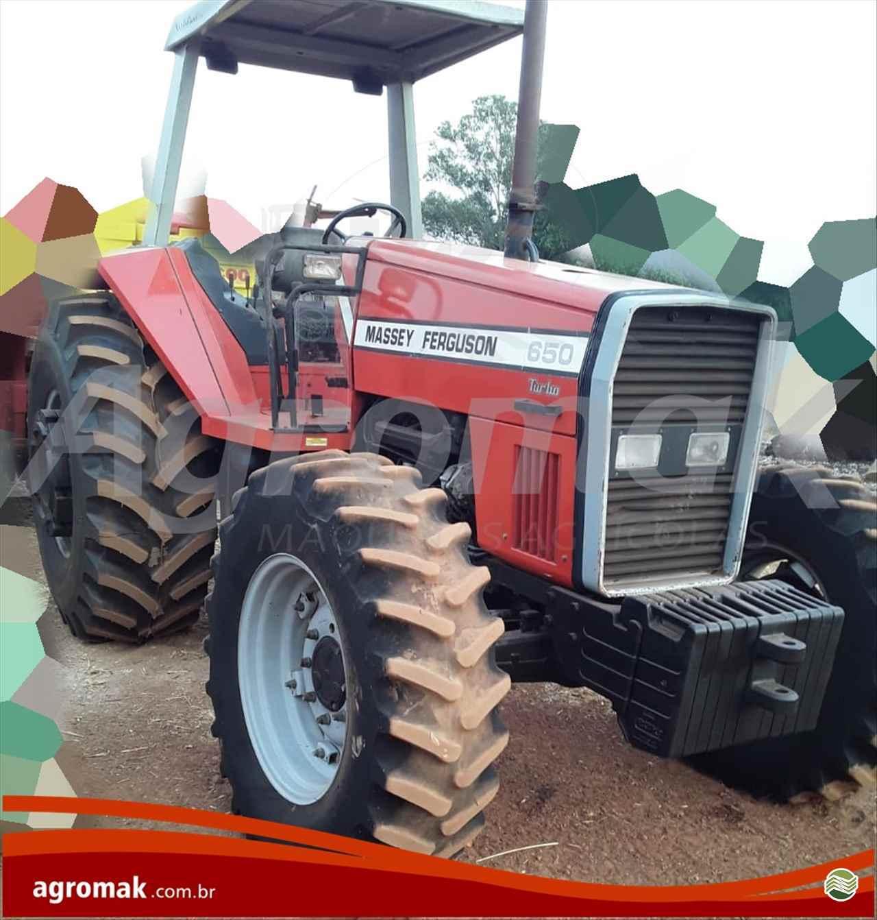 TRATOR MASSEY FERGUSON MF 650 Tração 4x4 Agromak Máquinas Agrícolas CAMPO VERDE MATO GROSSO MT
