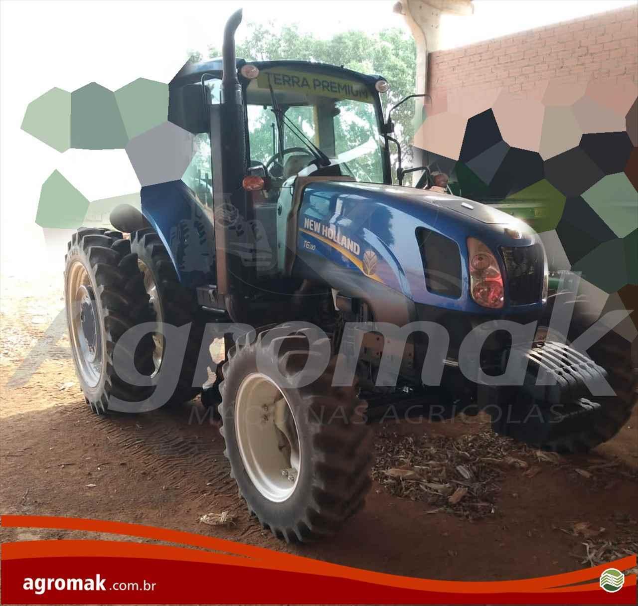 TRATOR NEW HOLLAND NEW T6 110 Tração 4x4 Agromak Máquinas Agrícolas CAMPO VERDE MATO GROSSO MT
