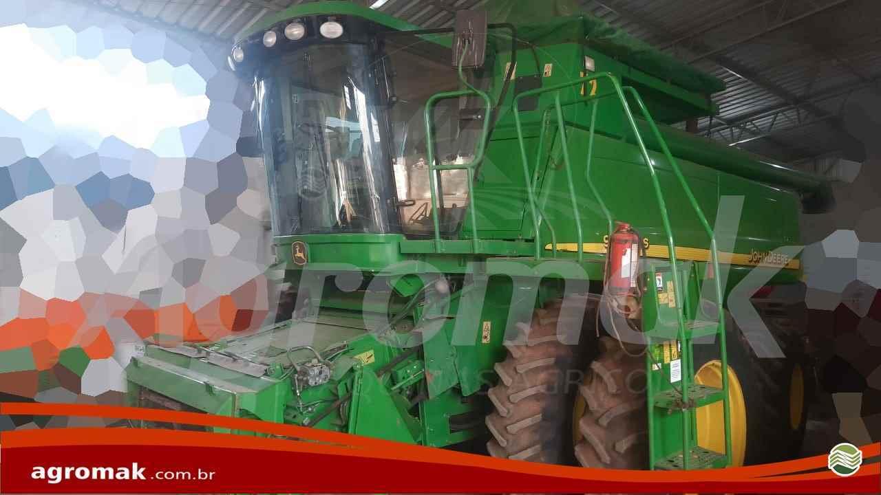 COLHEITADEIRA JOHN DEERE JOHN DEERE 9650 STS Agromak Máquinas Agrícolas CAMPO VERDE MATO GROSSO MT