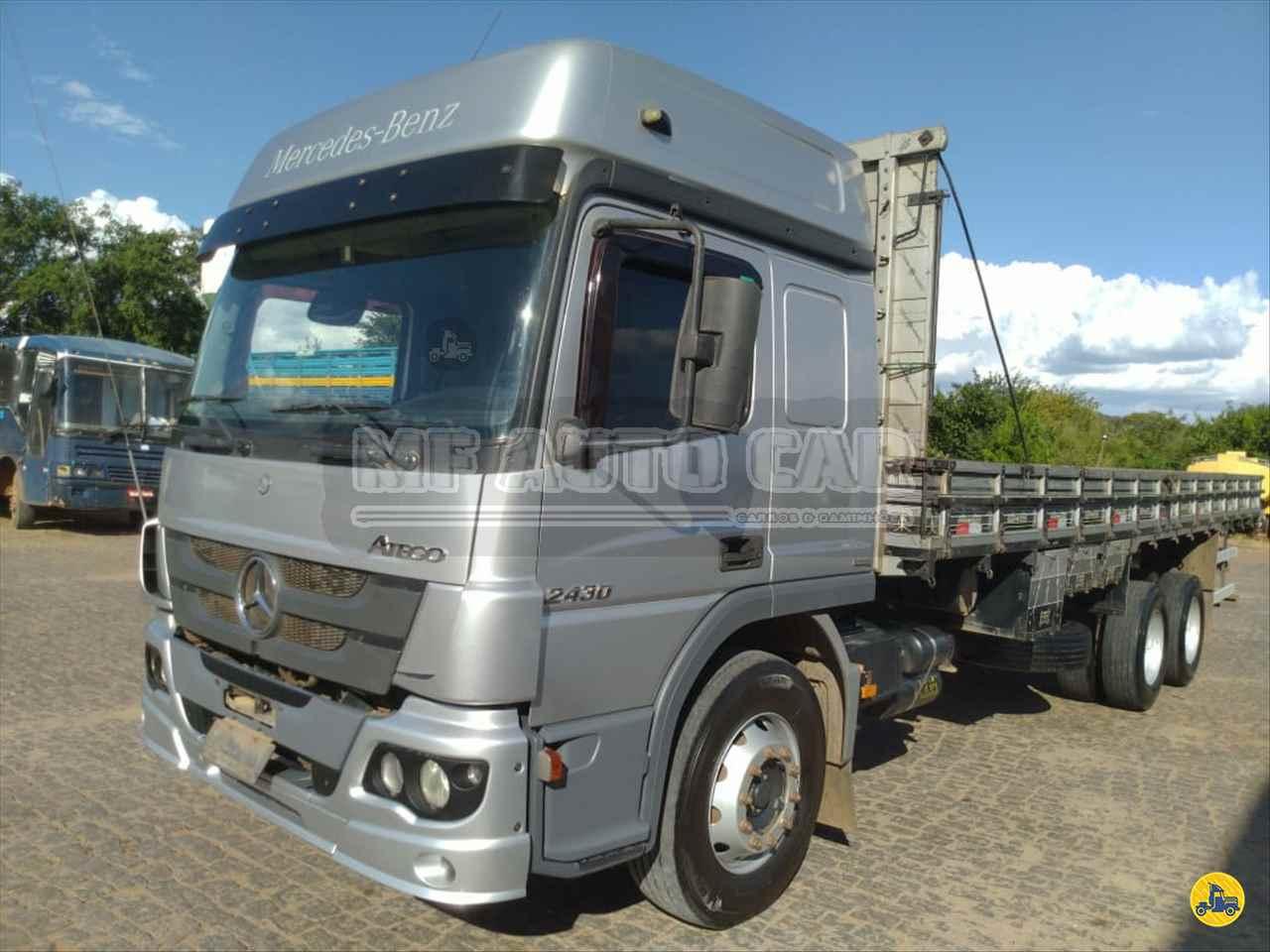 CAMINHAO MERCEDES-BENZ MB 2430 Graneleiro Truck 6x2 MF Auto Car PALHOCA SANTA CATARINA SC