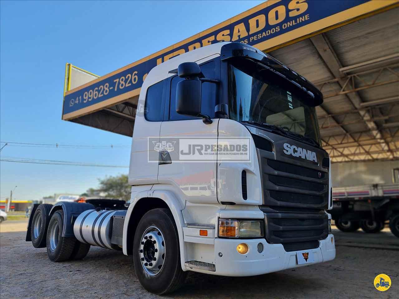 SCANIA 380 de JR Pesados - CURITIBA/PR