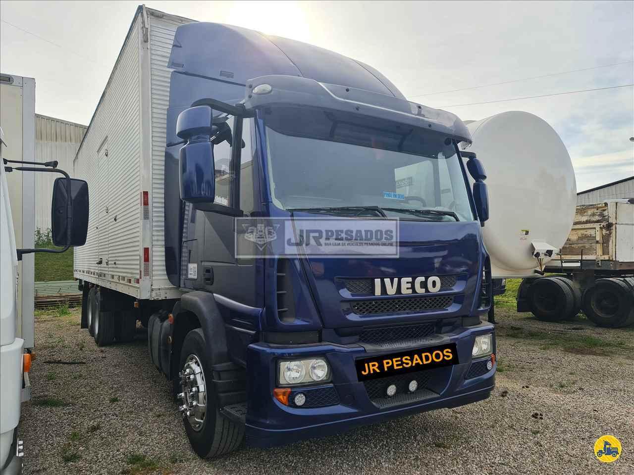CAMINHAO IVECO TECTOR 240E25 Baú Furgão Truck 6x2 JR Pesados CURITIBA PARANÁ PR