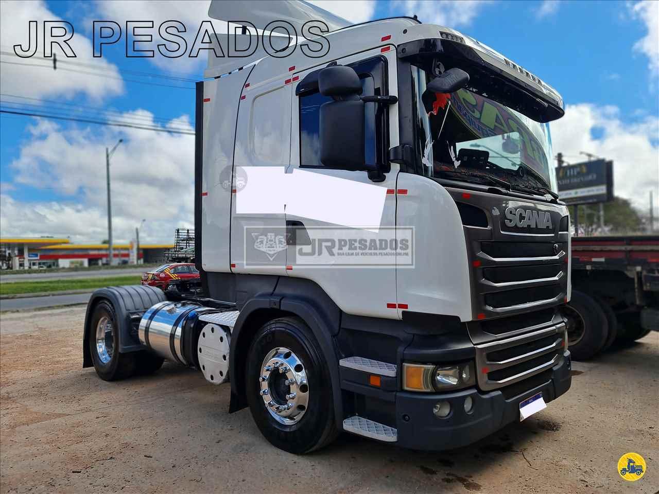 SCANIA 400 de JR Pesados - CURITIBA/PR
