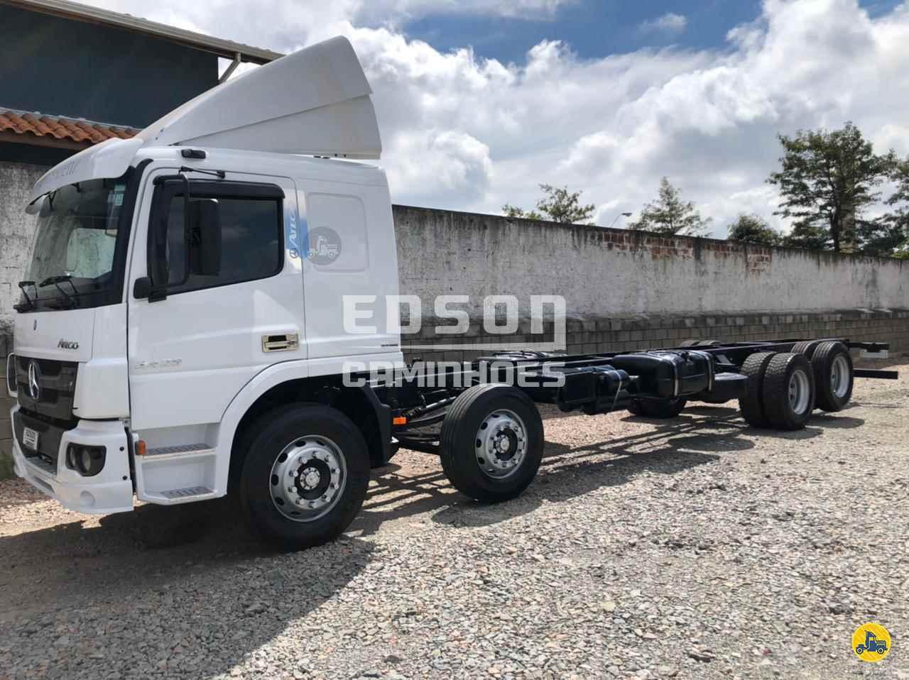 CAMINHAO MERCEDES-BENZ MB 2426 Chassis BiTruck 8x2 Edson Caminhões CURITIBA PARANÁ PR