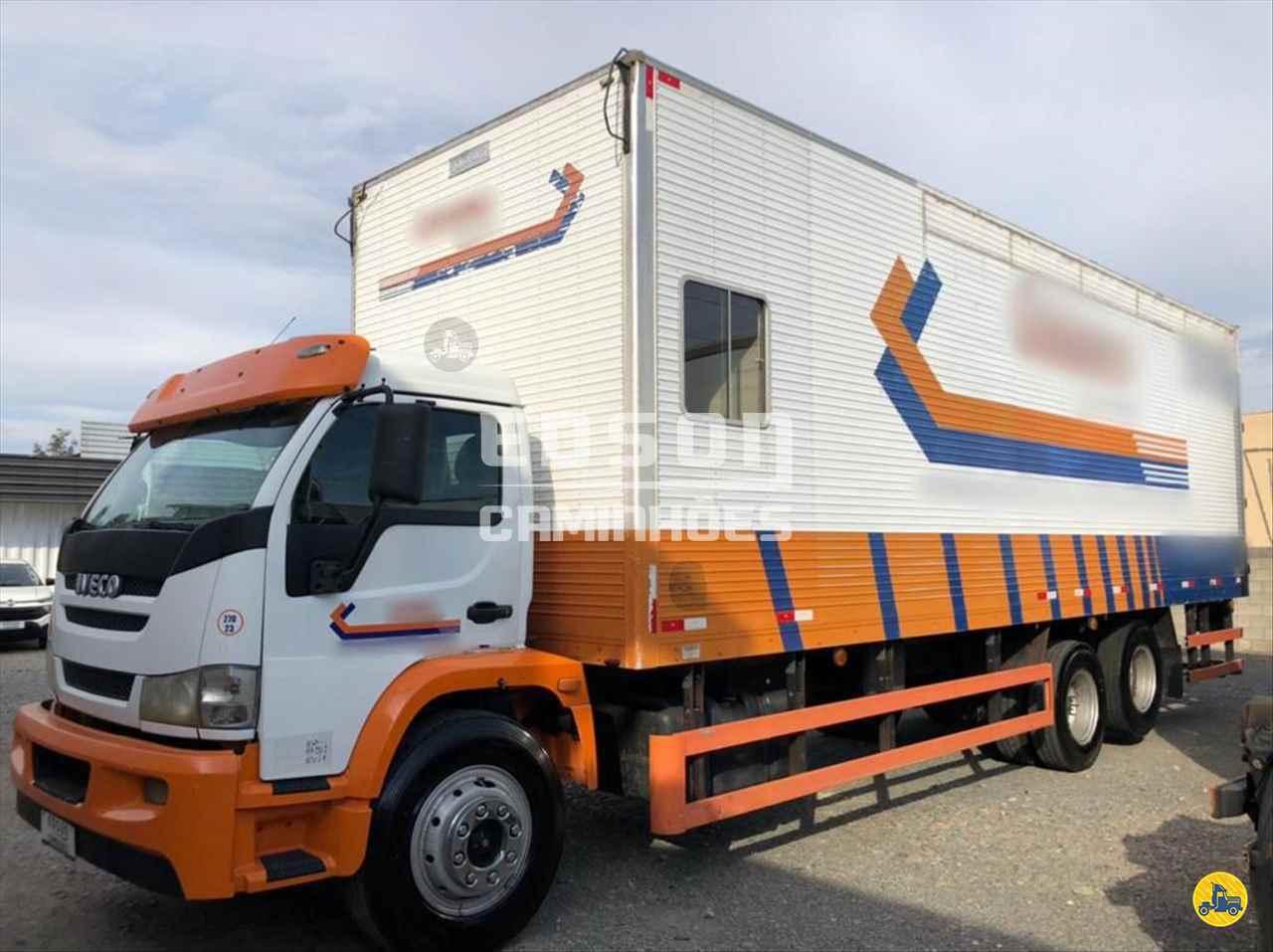 CAMINHAO IVECO VERTIS HD130V18 Baú Furgão Truck 6x2 Edson Caminhões CURITIBA PARANÁ PR