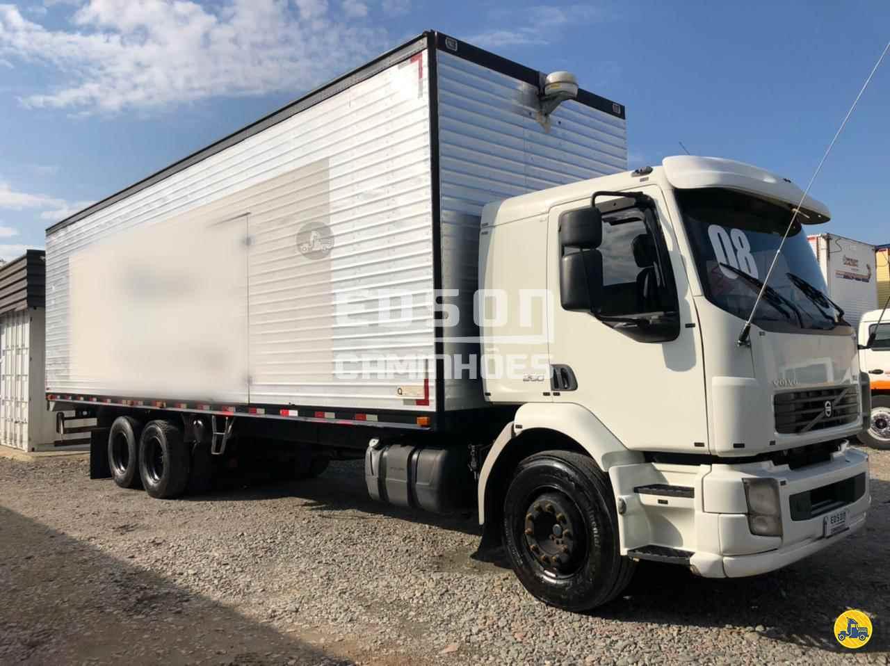 CAMINHAO VOLVO VOLVO VM 260 Baú Furgão Truck 6x2 Edson Caminhões CURITIBA PARANÁ PR