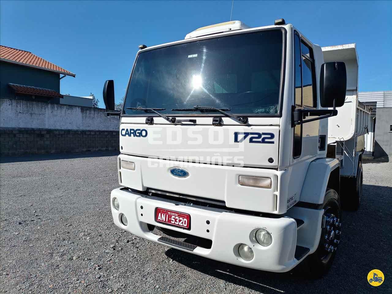 CAMINHAO FORD CARGO 1722 Caçamba Basculante Toco 4x2 Edson Caminhões CURITIBA PARANÁ PR