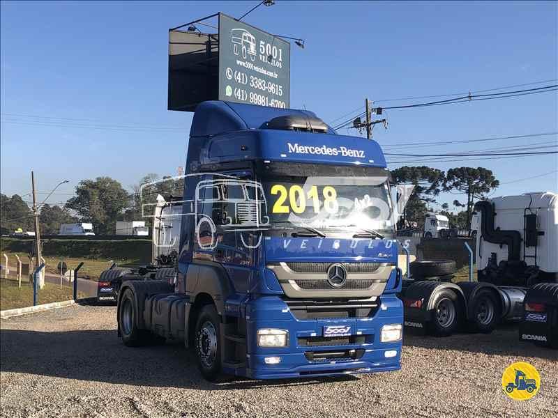 MERCEDES-BENZ MB 2041 239857km 2017/2018 5001 Veículos - São José dos Pinhais
