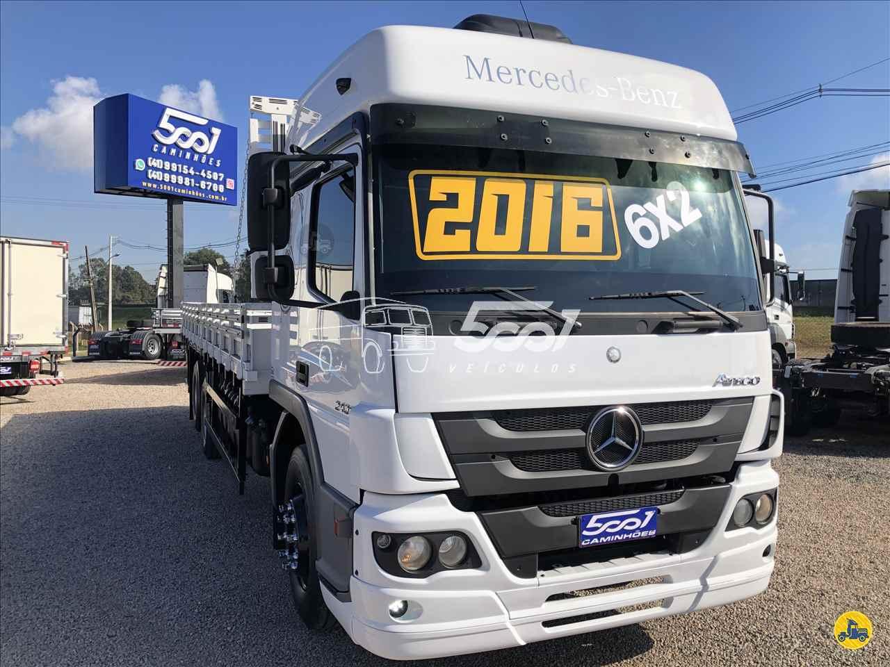 CAMINHAO MERCEDES-BENZ MB 2430 Carga Seca Truck 6x2 5001 Veículos - São José dos Pinhais SAO JOSE DOS PINHAIS PARANÁ PR