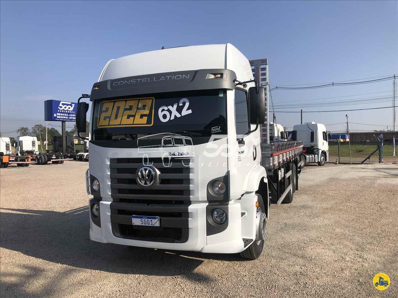 CAMINHAO VOLKSWAGEN VW 24280 Carga Seca Truck 6x2 5001 Veículos - São José dos Pinhais SAO JOSE DOS PINHAIS PARANÁ PR