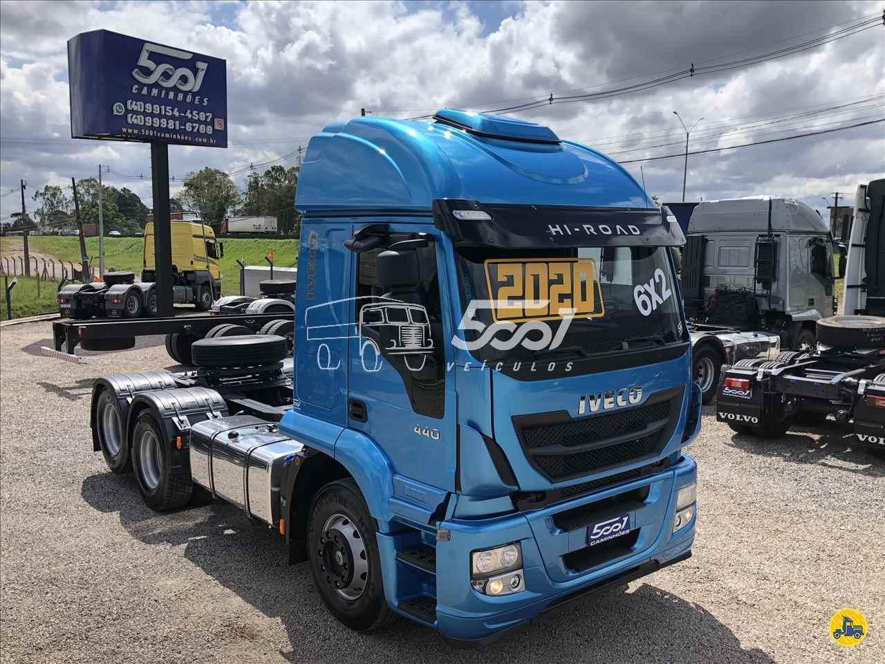 CAMINHAO IVECO STRALIS 440 Cavalo Mecânico Truck 6x2 5001 Veículos - São José dos Pinhais SAO JOSE DOS PINHAIS PARANÁ PR