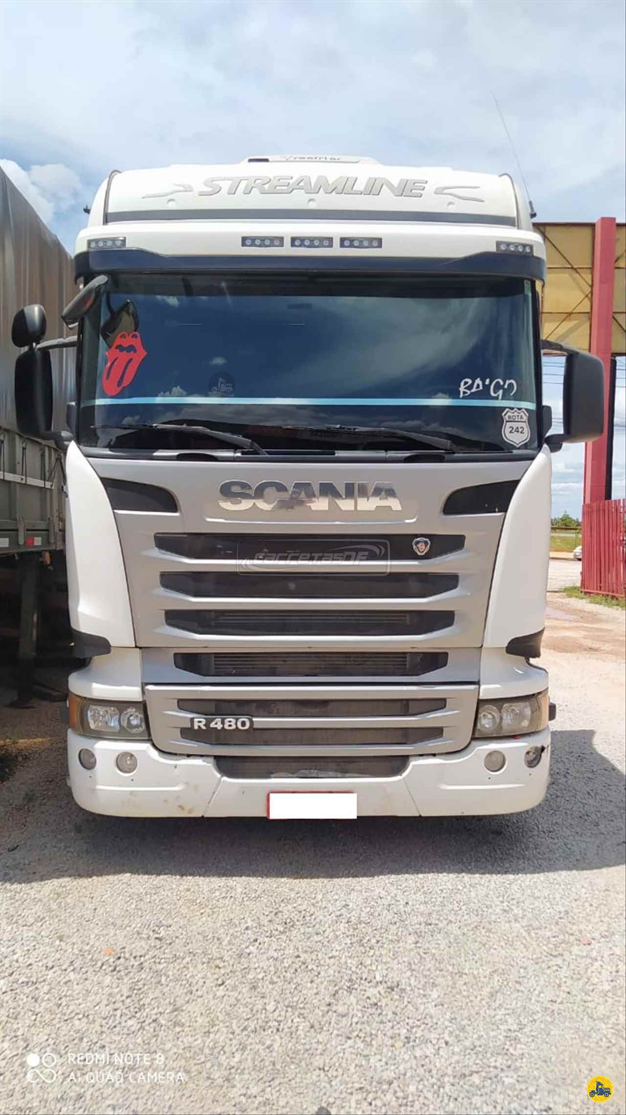 SCANIA SCANIA 480 550000km 2015/2015 Caminhões e Carretas DF - NOMA