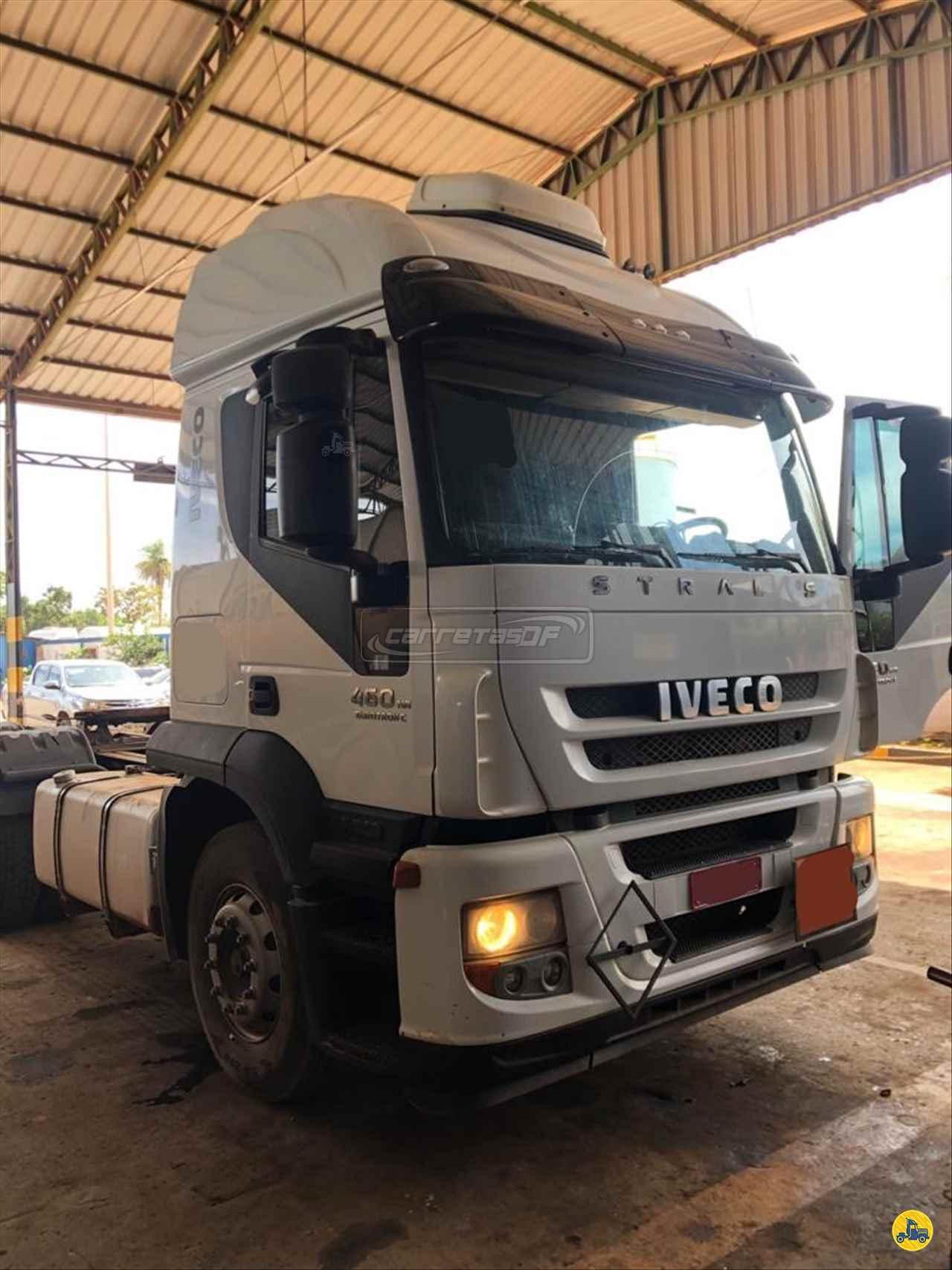 CAMINHAO IVECO STRALIS 460 Cavalo Mecânico Traçado 6x4 CARRETAS DF - NOMA BRASILIA DISTRITO FEDERAL DF