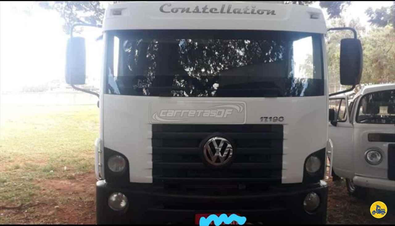 CAMINHAO VOLKSWAGEN VW 17190 Baú Furgão Toco 4x2 CARRETAS DF - NOMA BRASILIA DISTRITO FEDERAL DF