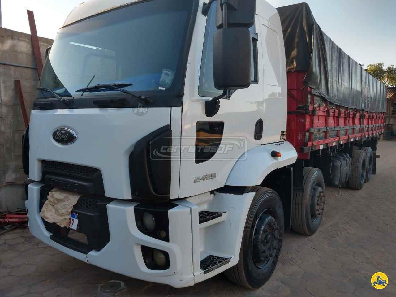 CAMINHAO FORD CARGO 2429 Graneleiro BiTruck 8x2 CARRETAS DF - NOMA BRASILIA DISTRITO FEDERAL DF