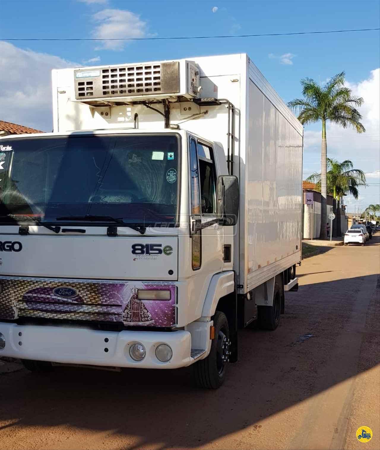 CAMINHAO FORD CARGO 815 Baú Frigorífico 3/4 4x2 CARRETAS DF - NOMA BRASILIA DISTRITO FEDERAL DF