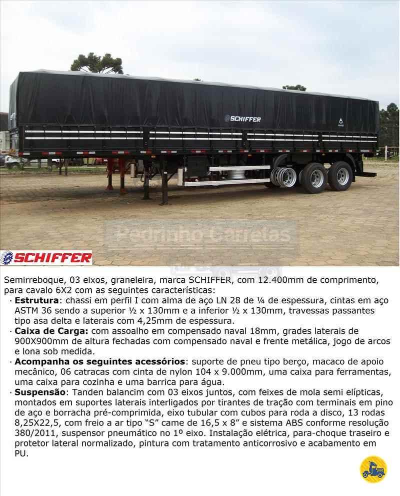 SEMI-REBOQUE GRANELEIRO  2021/2021 Pedrinho Carretas