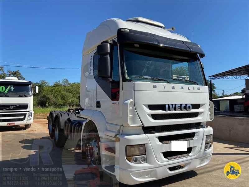 IVECO STRALIS 380  2008/2009 Junior Bozolan Transportes