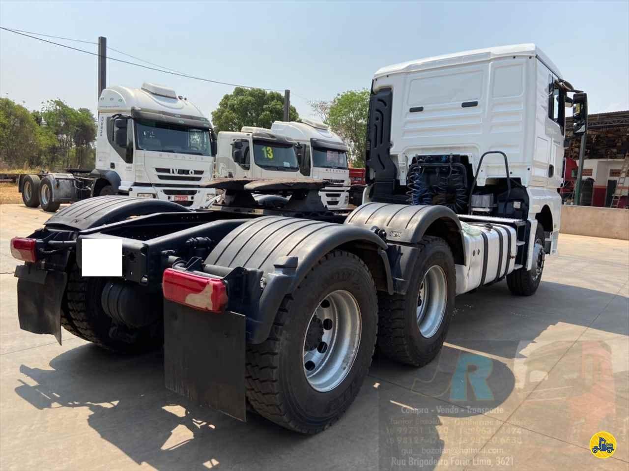 MAN TGX 29 440 401035km 2015/2016 Junior Bozolan Transportes