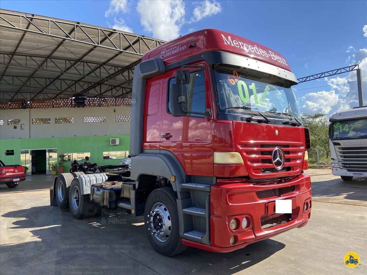 CAMINHAO MERCEDES-BENZ MB 1938 Cavalo Mecânico Truck 6x2 Jr Bozolan & Filhos ARACATUBA SÃO PAULO SP